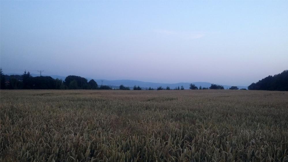 """Takie widoki z terenów """"spacerowych"""" miałyśmy. :)"""